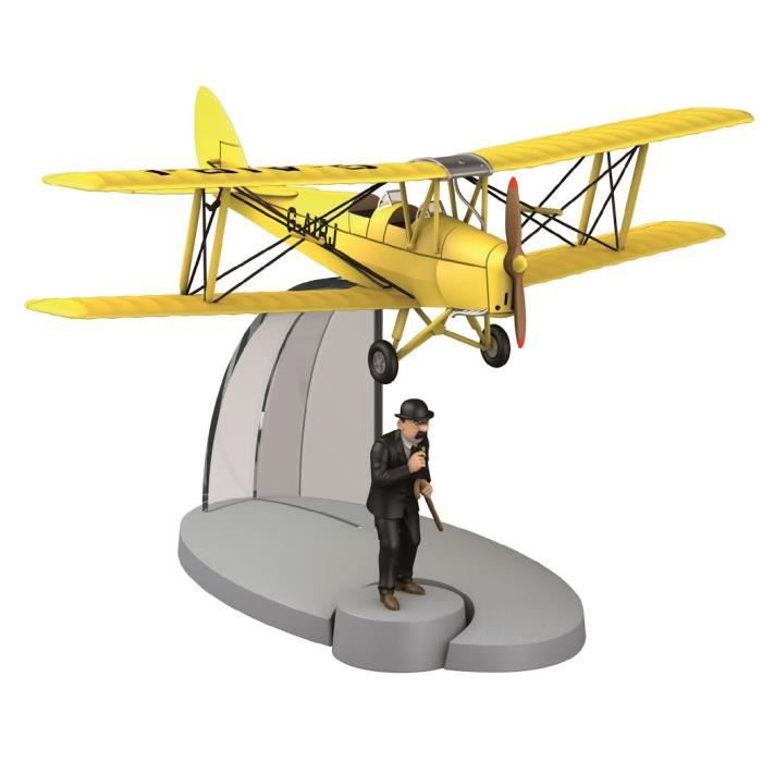 tintin figurine avion biplan g airj et dupont achat vente livre parution pas cher cdiscount. Black Bedroom Furniture Sets. Home Design Ideas