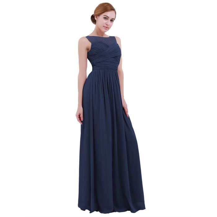 Robe longue Femme cérémonie mariage - Sans