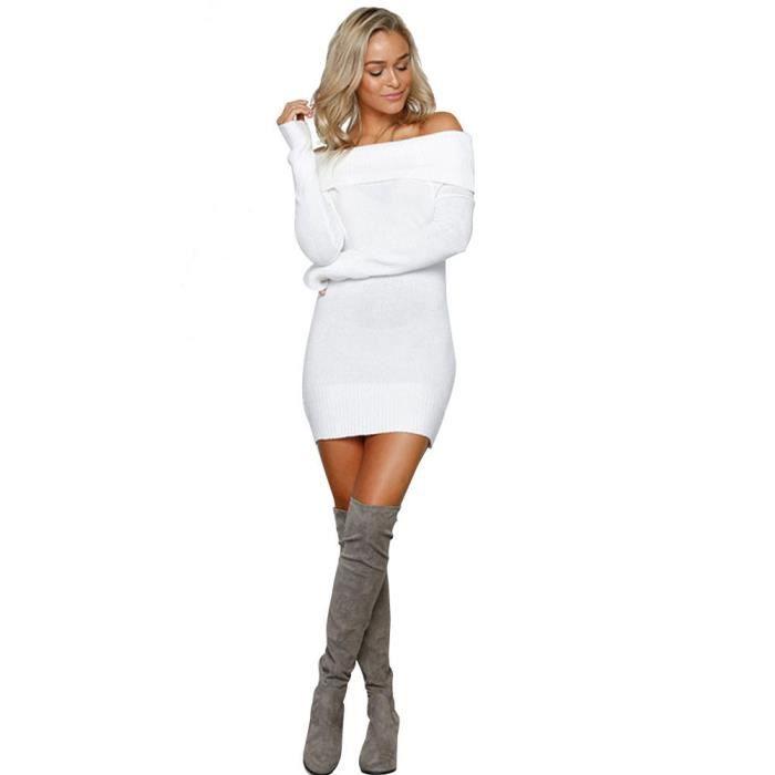 ROBE Femmes Robe  blanc