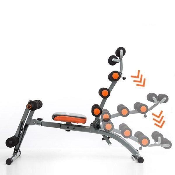 Banc De Musculation Pliable Avec Elastique Gym Abdominaux ...