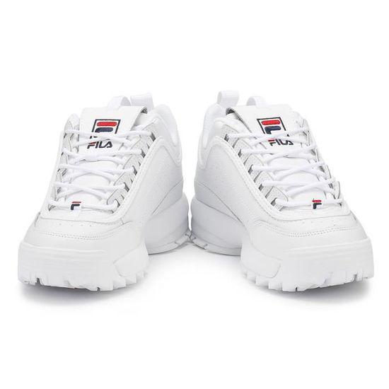 Fila Womens Blanc Disruptor II Premium formateurs UK 8