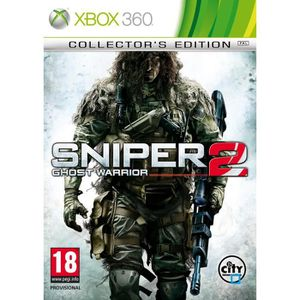 JEUX XBOX 360 SNIPER GHOST WARRIOR 2 EDITION COLLECTOR/ XBOX 360