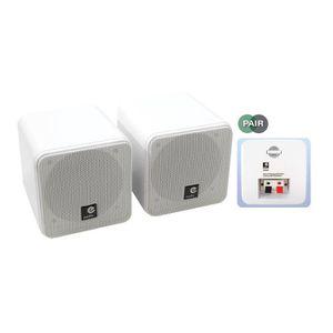 ENCEINTE ET RETOUR Mini Enceintes e-audio 10cm Double Cône (8 Ohms 80