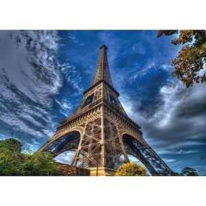 PUZZLE Puzzle 3000 pièces : Tour Eiffel aille Unique Colo
