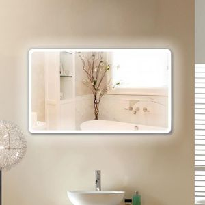 Miroir salle de bain led 120x70