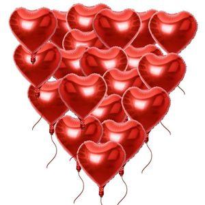 26 pcs Or Rose Coeur Ballons Feuille Ballons Coeur Ballons Feuille Ballons Coeur Forme Ballons Dh/élium 18 Pouce Pour Lanniversaire Saint Valentin Mariage De Fian/çailles D/écoration