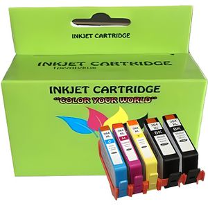 CARTOUCHE IMPRIMANTE 5 Compatible HP 364 Cartouche d'encre XL pour Phot