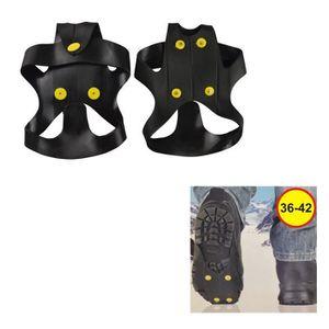 CRAMPON POUR GLACE Paire de Crampon Ice Thread pour Chaussure Taille