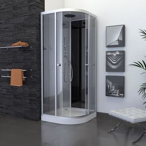 cabine de douche d angle 90x90 achat vente cabine de douche d angle 90x90 pas cher cdiscount. Black Bedroom Furniture Sets. Home Design Ideas