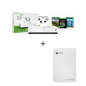 CONSOLE XBOX ONE Xbox One S All Digital + 3 jeux dématérialisés + D