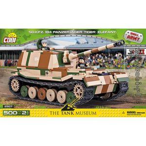 ASSEMBLAGE CONSTRUCTION Panzerjager Tiger Elefant Cobi