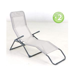Longue Pas Chaise Siesta Achat Vente Cher kNw80OPnX