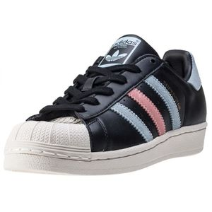 BASKET adidas Superstar W Femmes Baskets Black Blue - 8 U