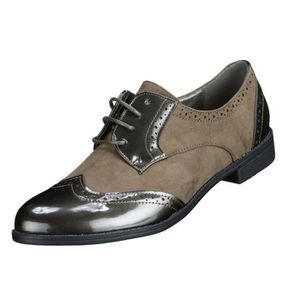 DERBY Derbies femme Lily shoes D32 Kaki
