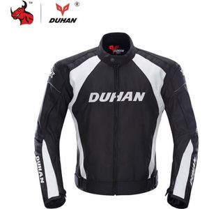 BLOUSON - VESTE DUHAN Hommes Moto Moto Veste Coupe-Vent Racing Ves