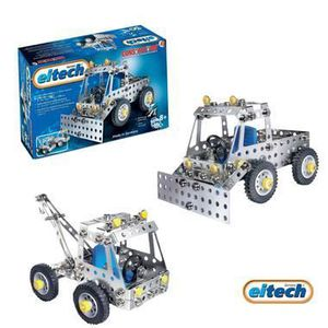 ASSEMBLAGE CONSTRUCTION Eitech jeu de construction en metal mecanique E...