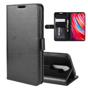 COQUE - BUMPER Coque Xiaomi Redmi Note 8 Pro, Étui Folio Cuir Por