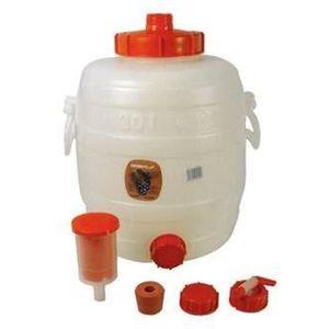 KIT DE BRASSAGE BIÈRE Cuve de fermentation en plastique 30 L,