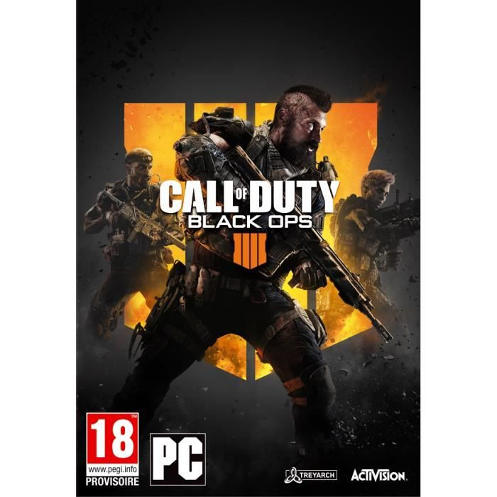 Call of Duty Black OPS 4 Jeu PC