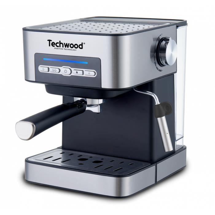 Cafetière Expresso -INOX-15 bars (pompe italienne)(café moulu ou dosettes souples)1,6L
