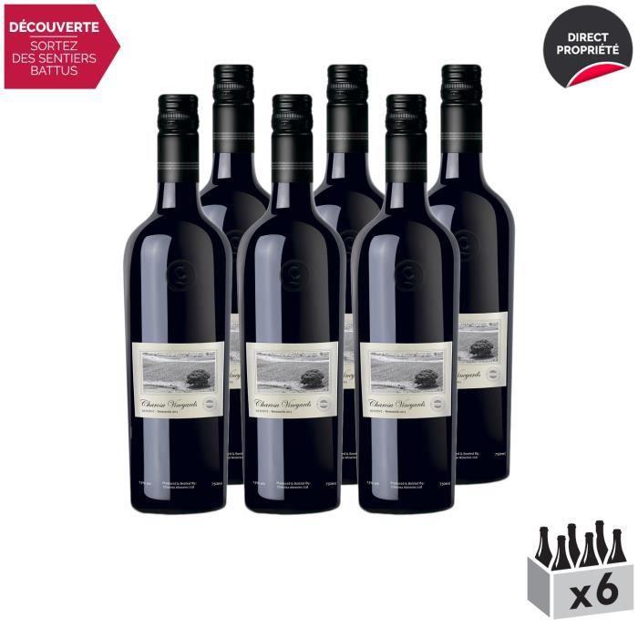 Nashik Réserve Tempranillo Rouge - Lot de 6x75cl - Charosa Vineyards - Vin . Rouge - Origine Inde - Cépage Tempranillo