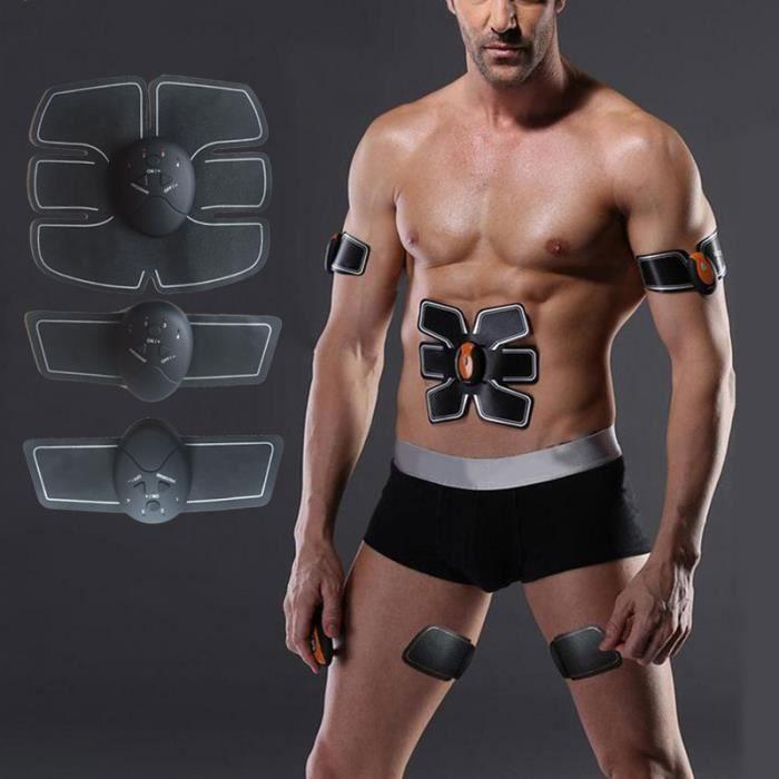 Fitness Électrique bras abdominal muscle stimulateur Exercis formation Dispositif de perte de poids autocollants corps minceur patch
