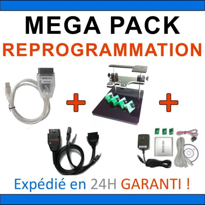 PACK REPROGRAMMATION CALCULATEUR BDM 100 FRAME MPPS V13 GALLETTO 1260 VAG PCK3