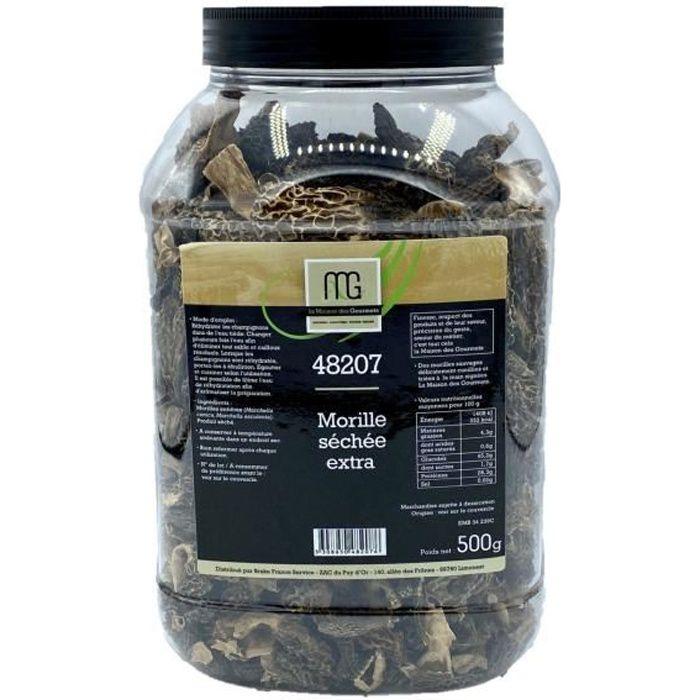 Morille séchée extra - Maison des Gourmets - tubo 500g