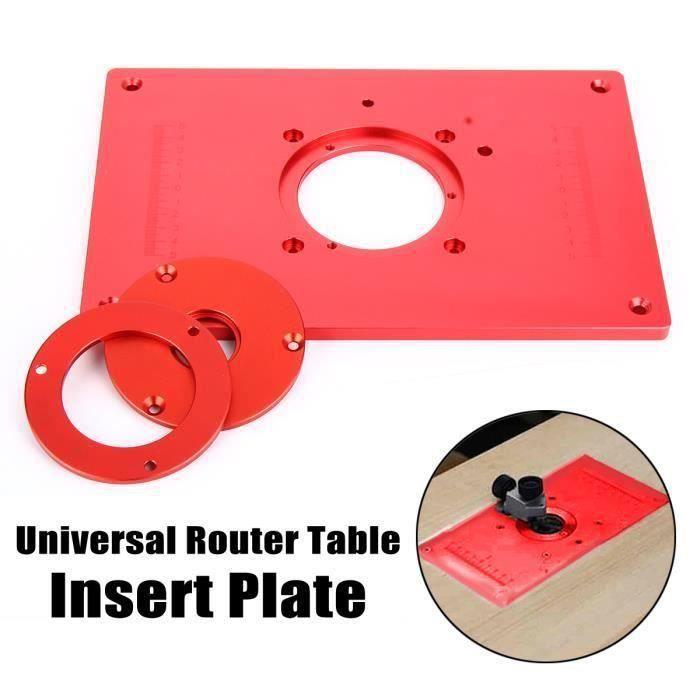 Universel Routeur Table insertion insérer plaque Pour Menuiserie Gravure Machine Bo29238