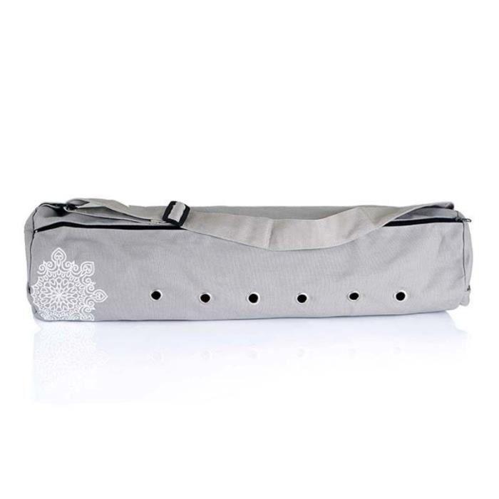 Tapis de sol,Sac de rangement en toile pour tapis de Yoga et Pilates, sac de transport respirant pour tapis de Yoga - Type GRAY -A