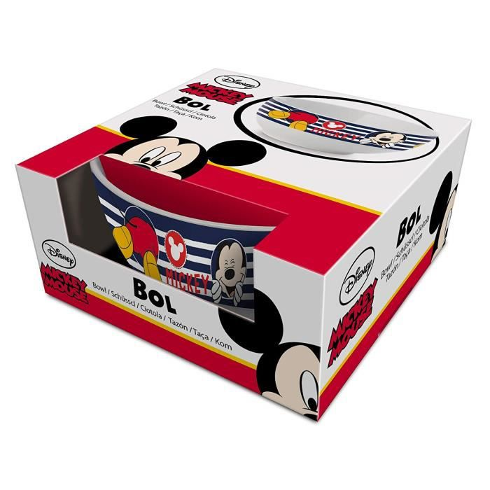 BOL CEREALES MICKEY MOUSE bleu