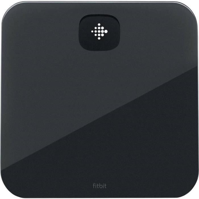 FITBIT Aria Air - Balance connectée - Jusqu'à 8 utilisateurs - Noir