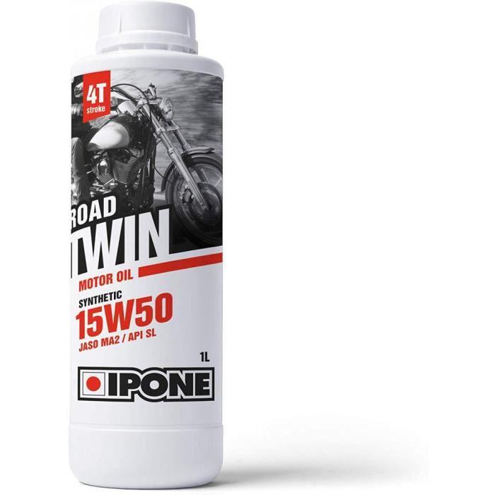 Huile Moto Ipone 4T 15W50 Road Twin 1L