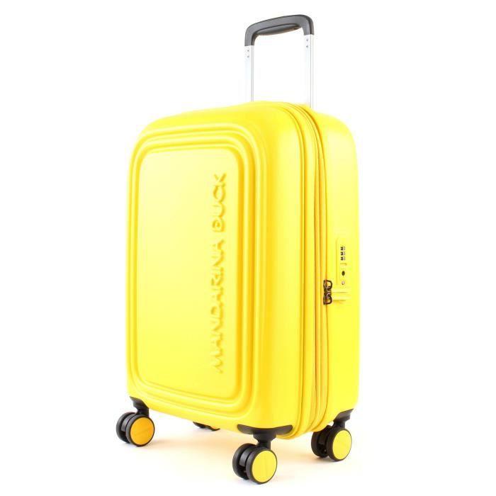 MANDARINA DUCK Logoduck + Expandable Trolley S Duck Yellow [68978] - valise ou bagage vendu seul