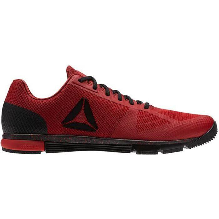 Chaussures Reebok CrossFit Speed TR 2.0 rouge noir