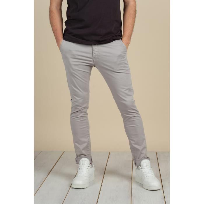 DEELUXE Pantalon chino BAKERY Roc