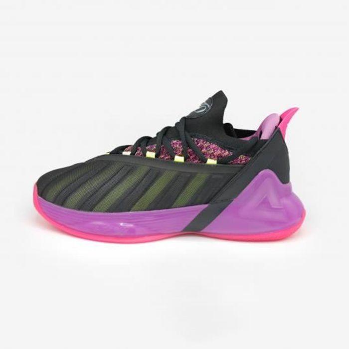 Chaussures de basketball Tony Parker VII - rose/noir/blanc - 39