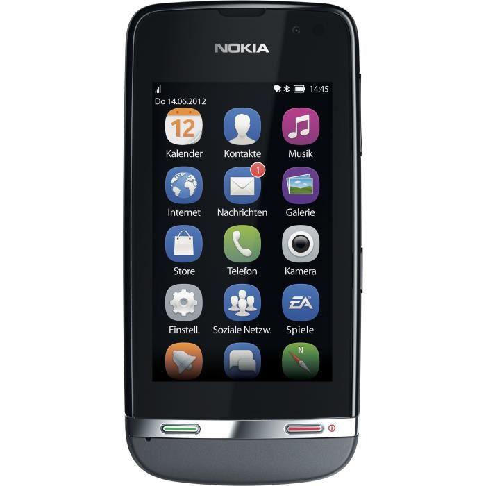Nokia Asha 311 Smartphone débloqué (écran de 7,6 cm 3 (-)-Appareil photo 3,2 MP GPS)