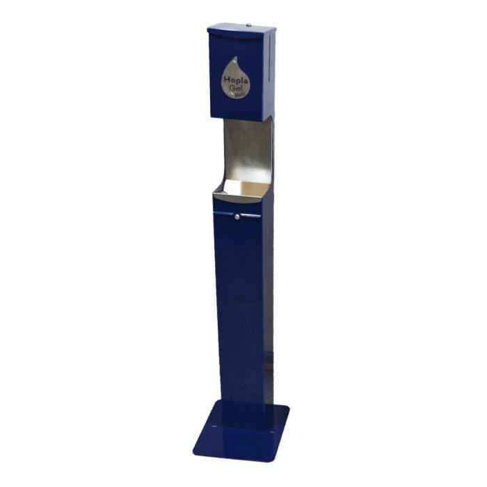Distributeur automatique de gel sans contact HOPLA GEL MATIC - Bleu - Protection Equipement