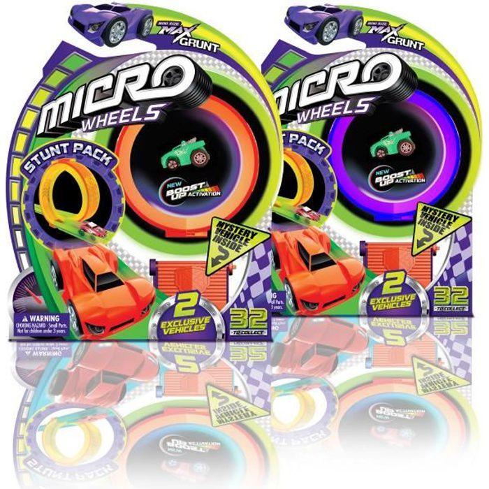 MICRO WHEELS - Voiture loop pack - Pour faire la course et des loopings - aléatoire
