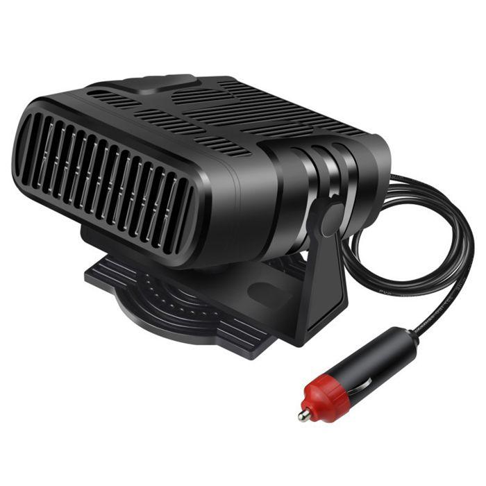 TD® Chauffage appoint 12V portable batterie ventilateur voiture allume cigare radiateur refroidissement dégivreur climatiseur