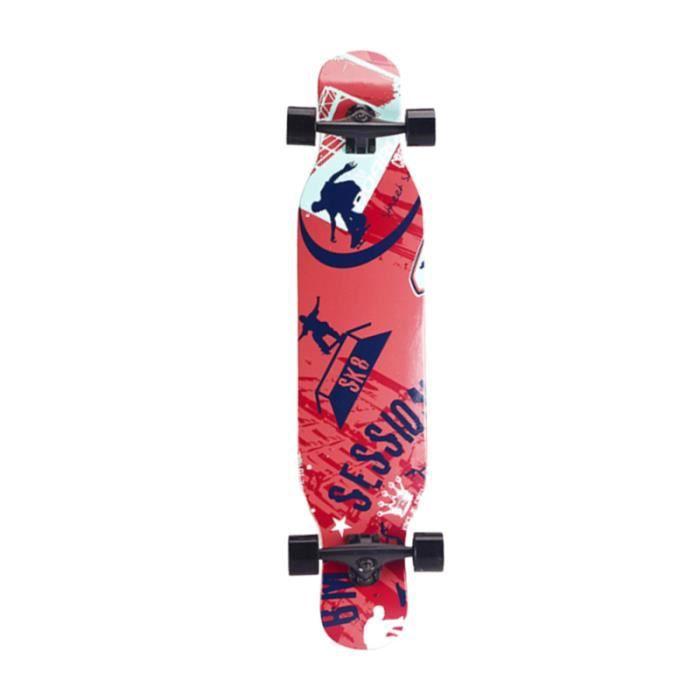 Planche de skateboard complète professionnelle Longboard Street Dancing Skateboard SKATEBOARD - SHORTBOARD - LONGBOARD - PACK