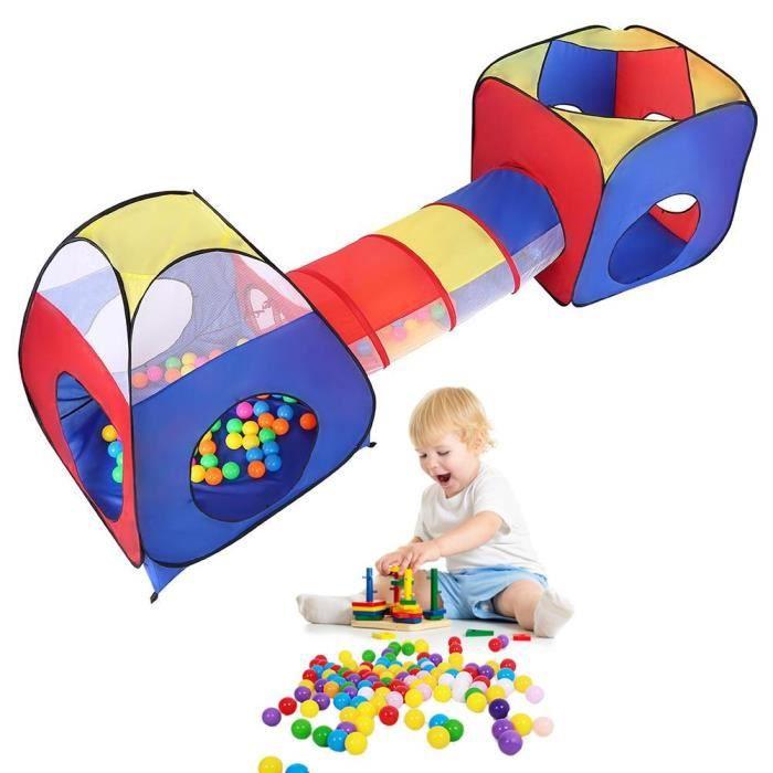 Tente Jeu Tunnel D Activite Bebe Maison De Jeu Pour Enfants Jouet Cadeau De Noel De Boule Ocean Balle De Camping Achat Vente Tente Tunnel D Activite Cdiscount