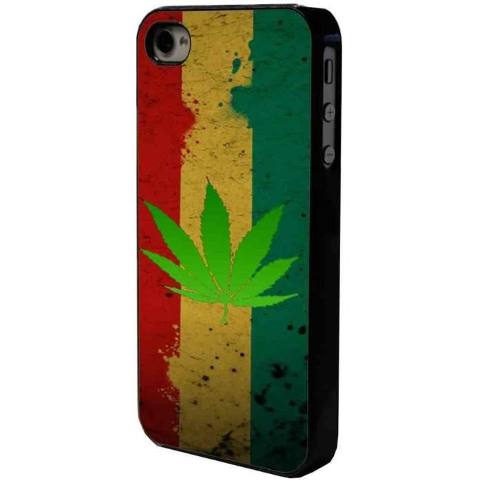 Coque Iphone  Rasta