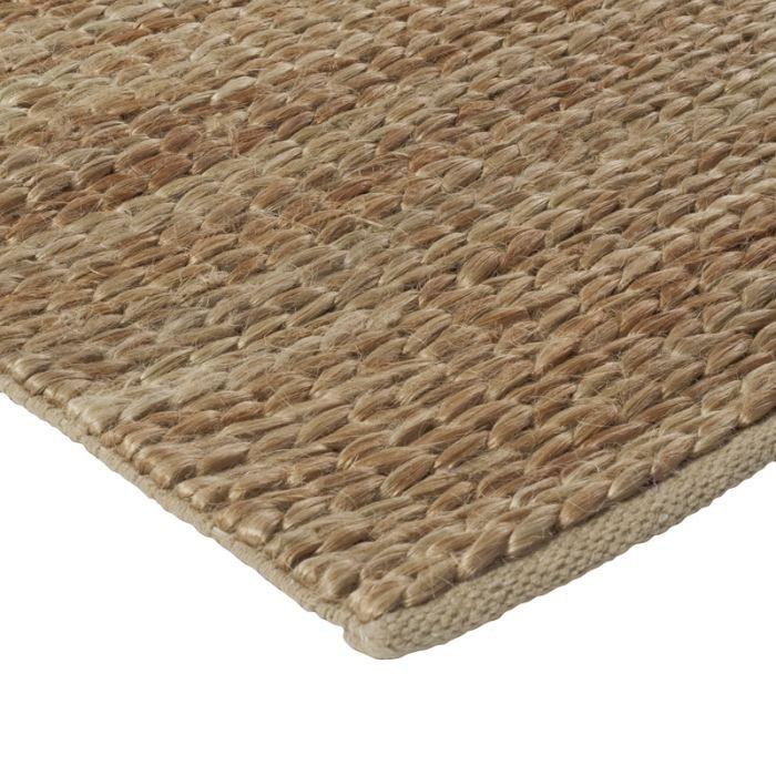 tressage tapis jute beige 160x230 achat vente tapis. Black Bedroom Furniture Sets. Home Design Ideas