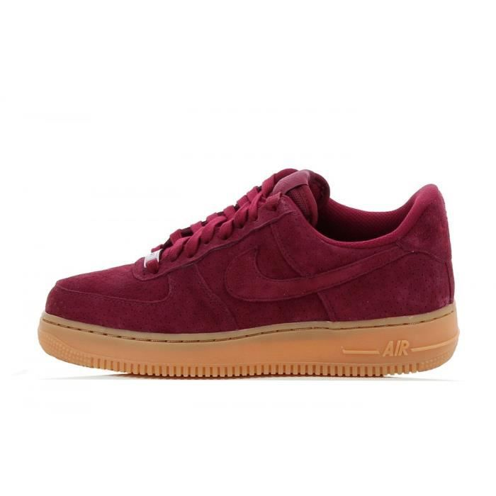air force 1 homme bordeau