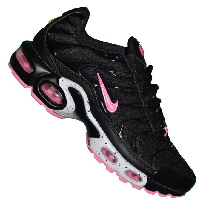 Nike -- Basket - Femme - Air Max Plus Tn 03 - Noir Rose ...