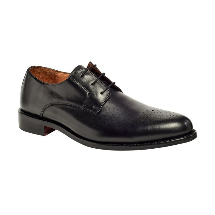 Gypsy Oxford Derby Brogue Shoe trépointe Goodyear CQRD0 Taille-45