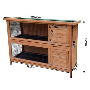 clapier cage lapin achat vente clapier cage lapin pas cher cdiscount. Black Bedroom Furniture Sets. Home Design Ideas