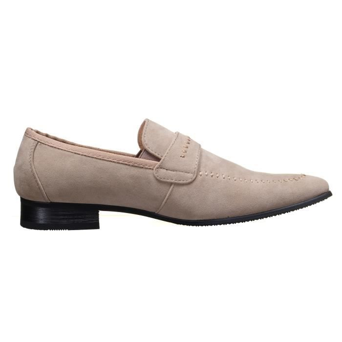 Chaussure Reservoir Shoes Anibal Mocassin Beige